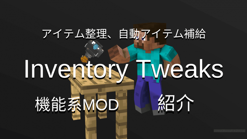 Inventory TweaksTOP