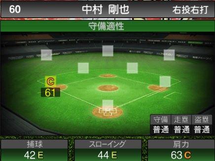 【プロスピA】10/15アニバーサリー選手第1弾が登場!2019Series2:中村剛也選手のステータス&評価