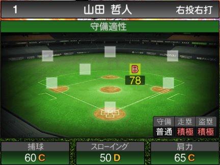 【プロスピA】11/18二塁手が登場!2019Series2:山田哲人選手のステータス&評価