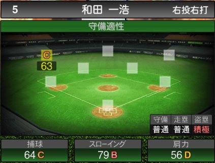【プロスピA】2019Series2:和田浩一選手のステータス&評価