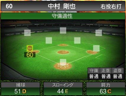 【プロスピA】2020Series1:中村剛也選手のステータス&評価