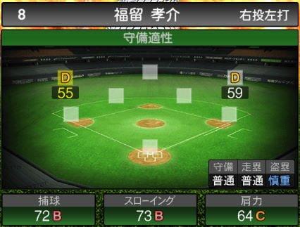 【プロスピA】2020Series1:福留孝介選手のステータス&評価