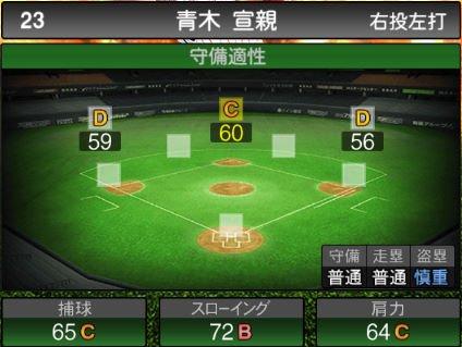 【プロスピA】2020Series1:青木宣親選手のステータス&評価